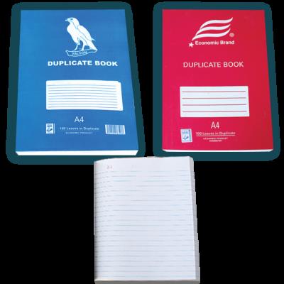 DUPLICATE BOOK A4