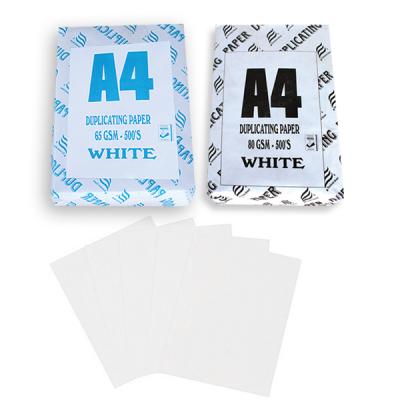 Duplicating paper