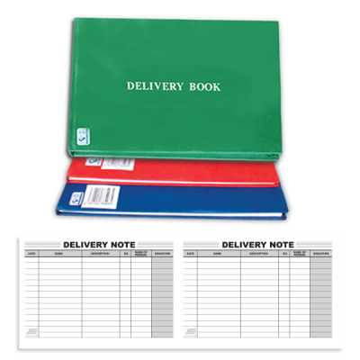 LETTER DELIVERY BOOK