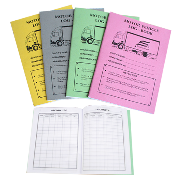 Motor Vehicle Log Book Economic Industries