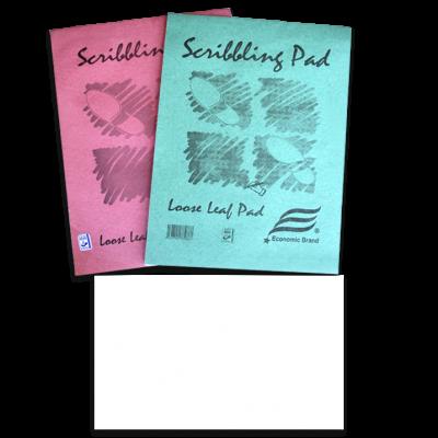 scribblng pads